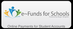 eFunds Logo online payment for lunch account